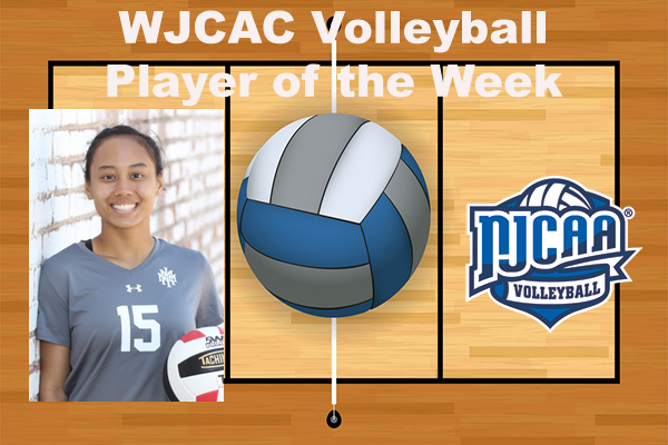 WJCAC Volleyball Player of the Week (Oct. 23)