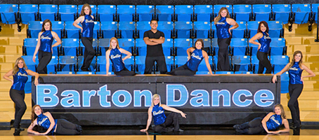 2018 Barton Dance Team