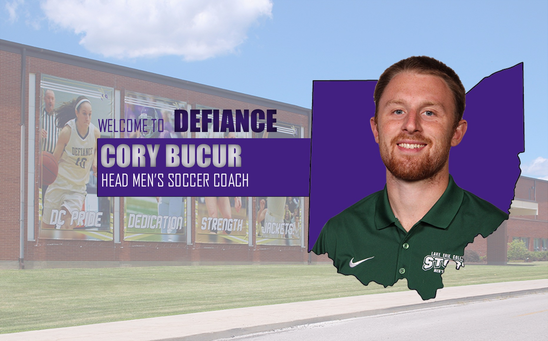 Defiance College Selects Cory Bucur as Head Men's Soccer Coach