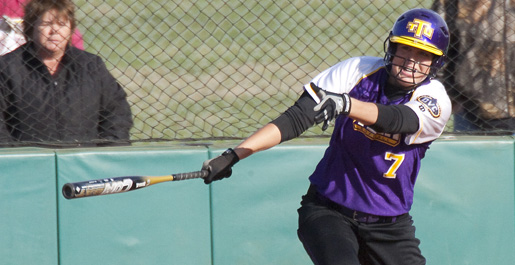 Softball team drops two conference contests at Eastern Illinois