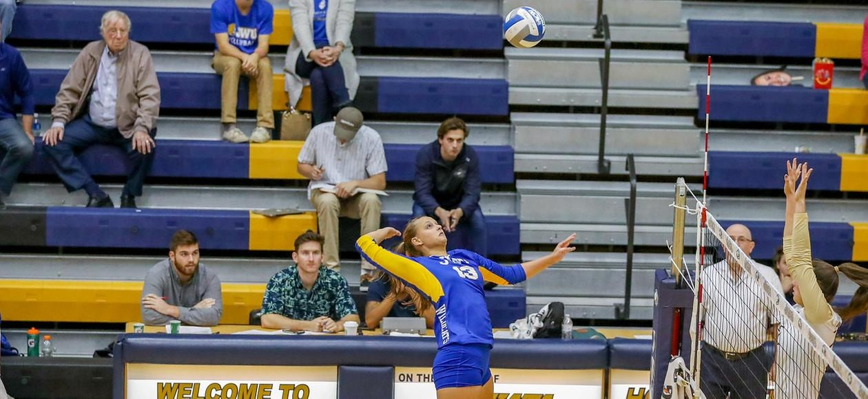 JWU Volleyball Too Much For Ducks 3-0