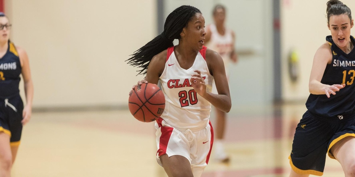 Ezemma Joins Clark's 1,000 Point Scorers Club in Victory over Wheaton