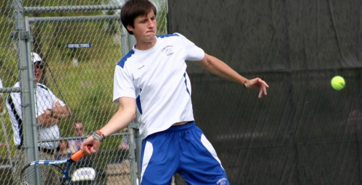 Men's Tennis stays perfect in NAC play with win over Wisconsin Lutheran