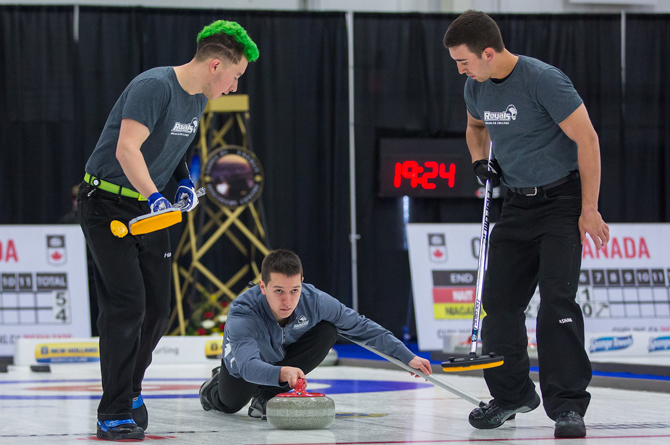 Day Two from the 2018 CCAA/Curling Canada Championships
