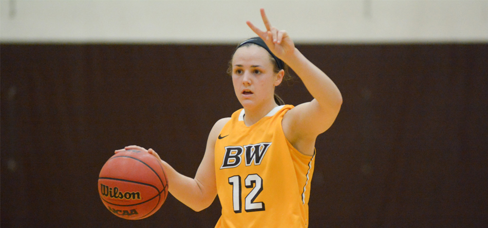 Junior All-OAC guard Riley Schill led BW with 10 points in the loss to Thomas More (Ky.)