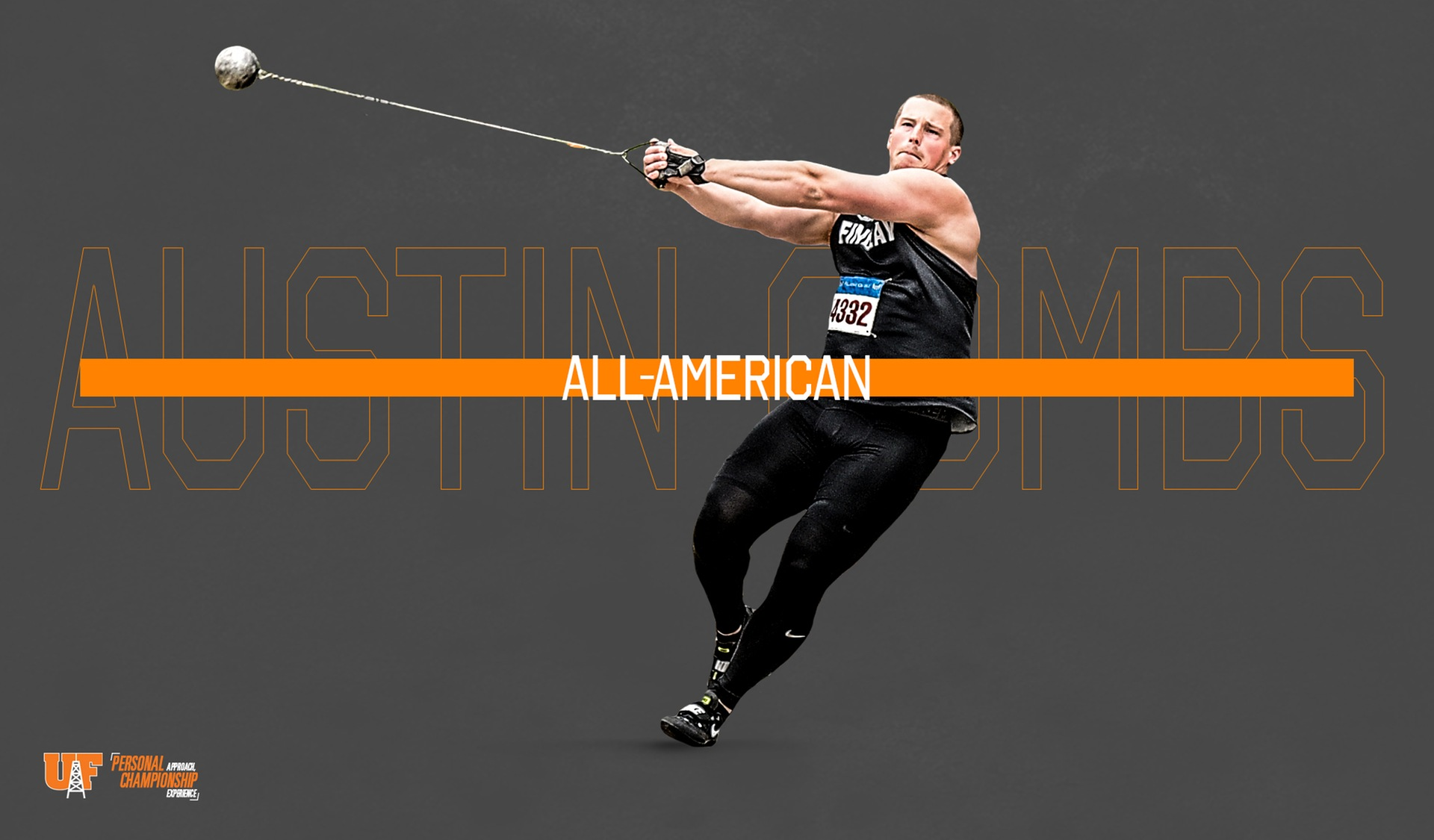 Combs Earns All-American Honors in Hammer Throw