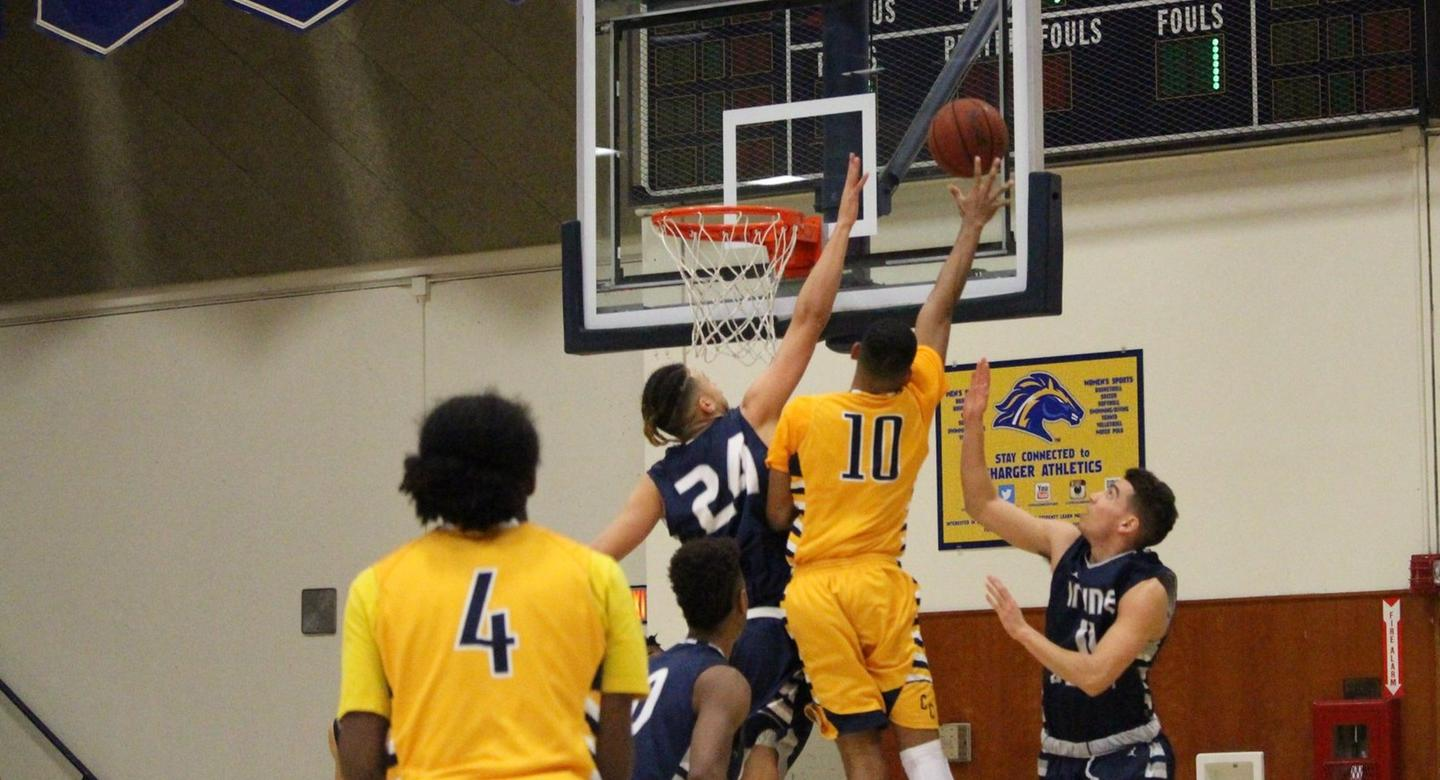 Men's basketball team loses conference battle at Cypress