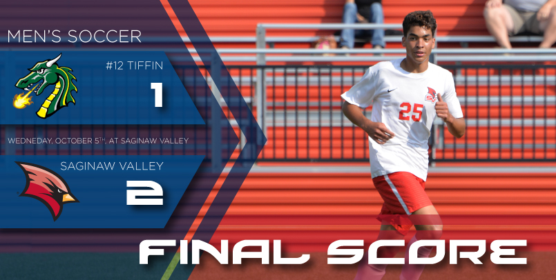 Ortiz's late goal lifts Cardinals to victory over #12 Tiffin