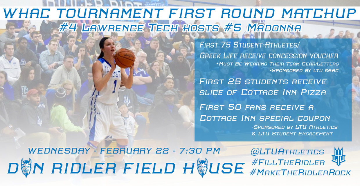 Photo for LTU hosts Madonna on Wednesday in WHAC Tournament First Round game