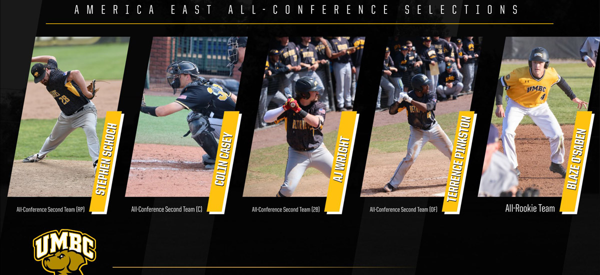 Five Retrievers Earn America East All-Conference Honors