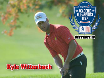 Men's Golfer Kyle Wittenbach Receives Academic All-District Honor