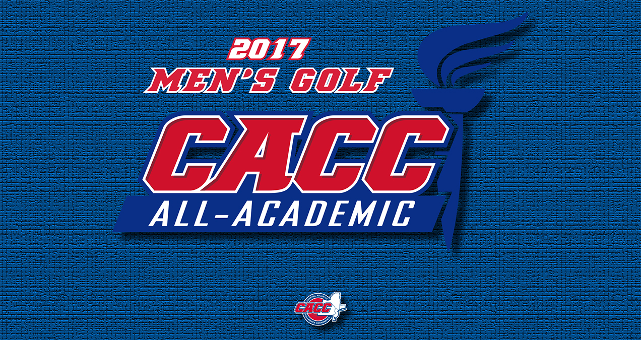 Eight Student-Athletes Named to 2017 CACC Men's Golf All-Academic Team