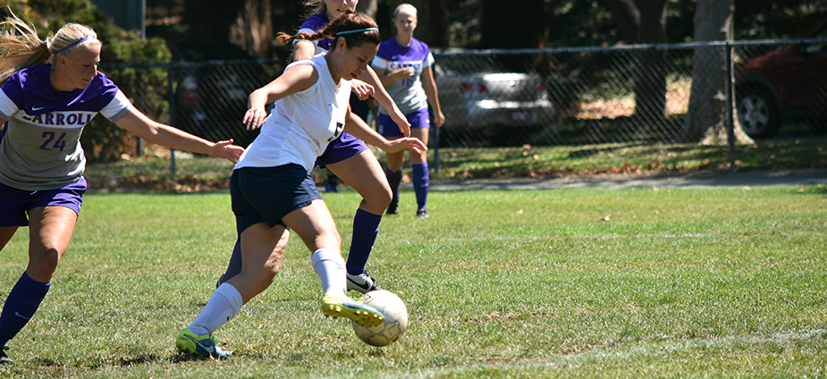 Mills Soccer Opens Season Against Carroll College