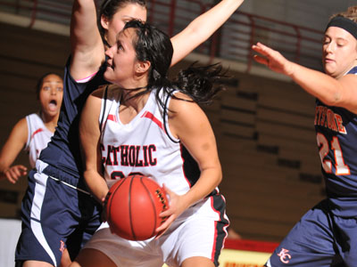 No. 18/19 Cardinals bounce back from first loss with 75-49 win