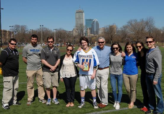 SAINTS PULL OFF 12-6 WIN OVER BECKER ON SENIOR DAY