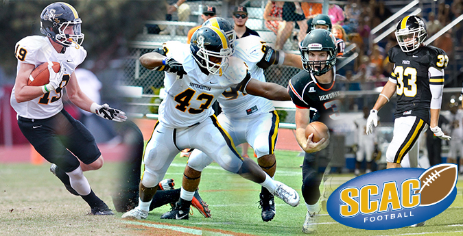 Trio of Pirates named to SCAC First Team on gridiron