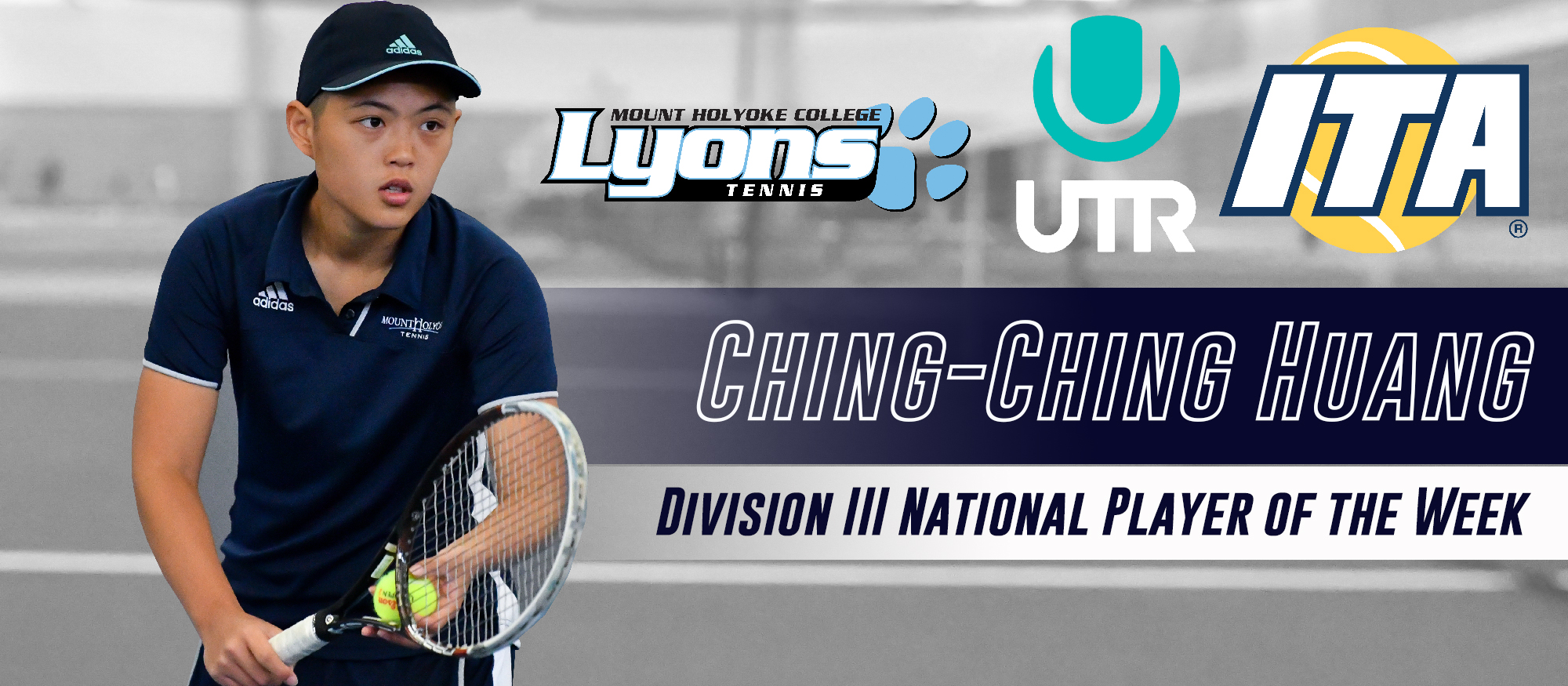 Huang Collects UTR ITA National Tennis Player of the Week Honors