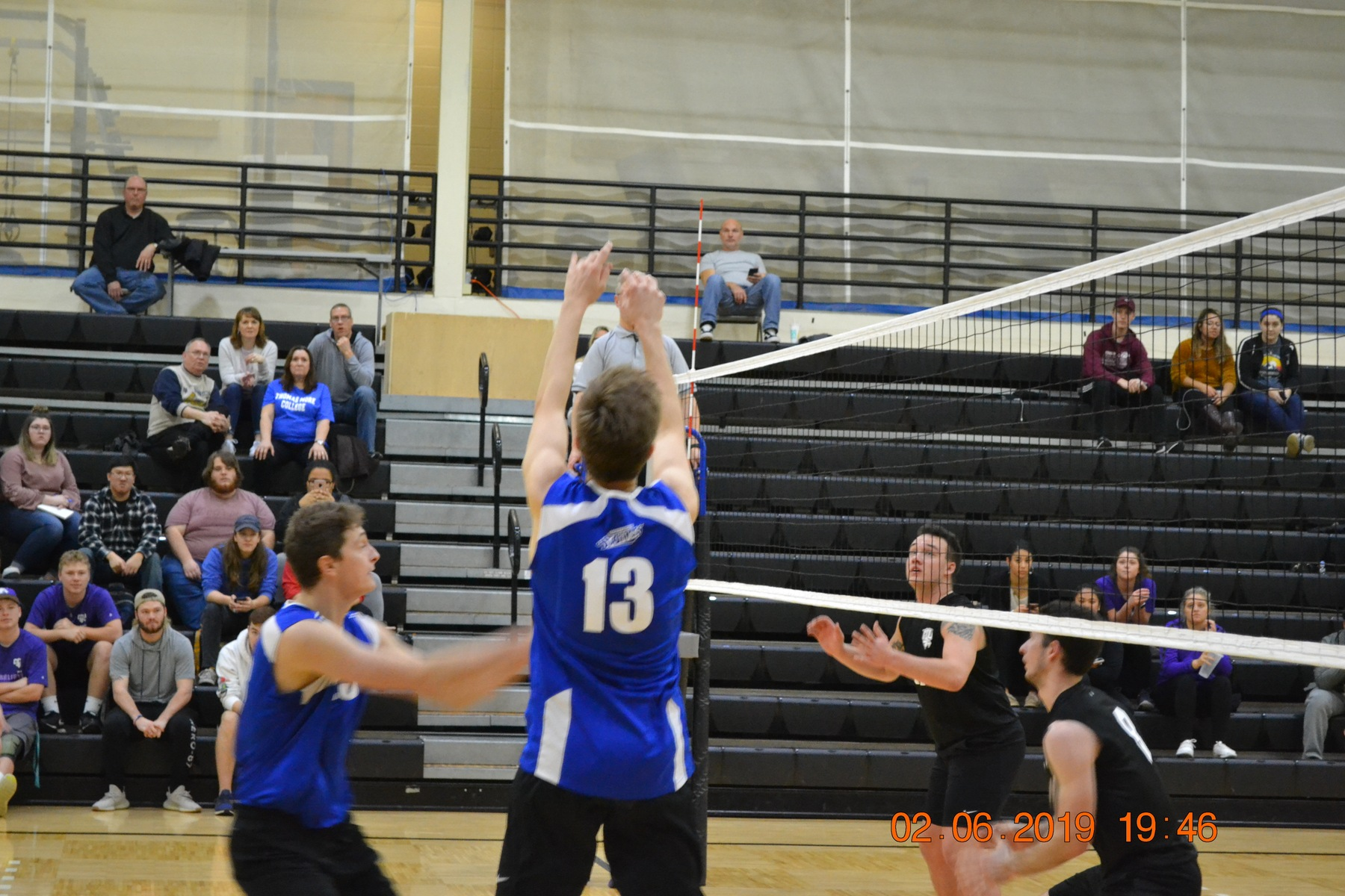 Men's Volleyball Falls to Fontbonne in Day One of Purple Raider Rumble