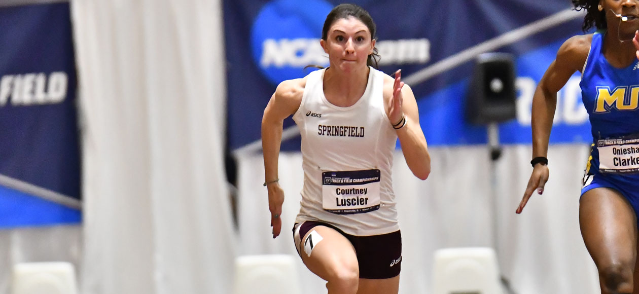 Luscier Finishes Fourth Overall in 60 Meter Dash at NCAA Division III Championships