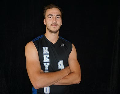 Keyano Volleyball Player Justin Delorme