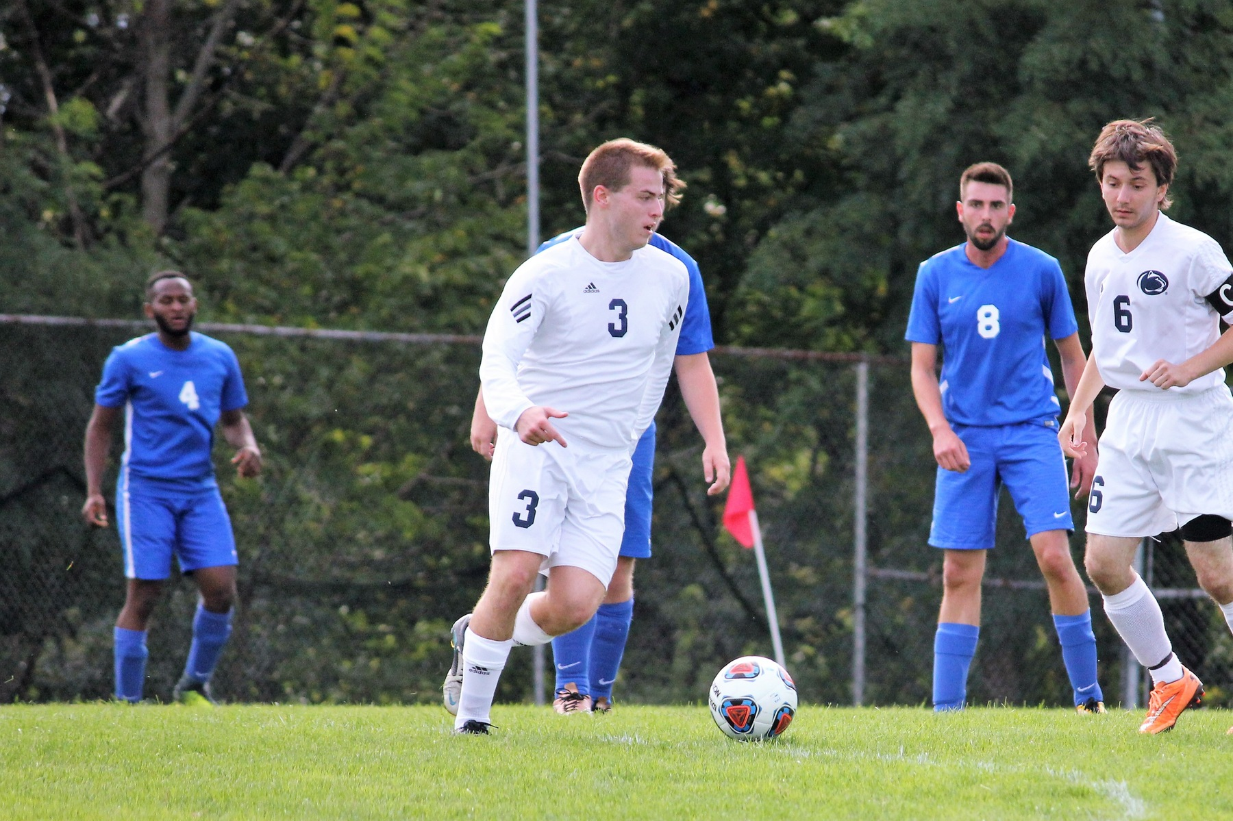 Hamilton Hat-trick lifts Men's Soccer over WCCC