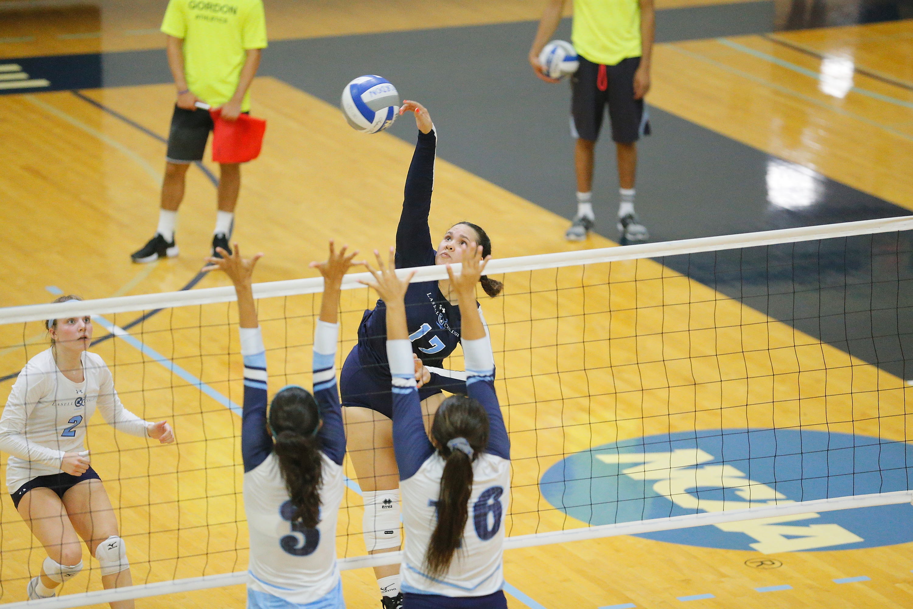 Lasell Women's Volleyball defeated by Babson