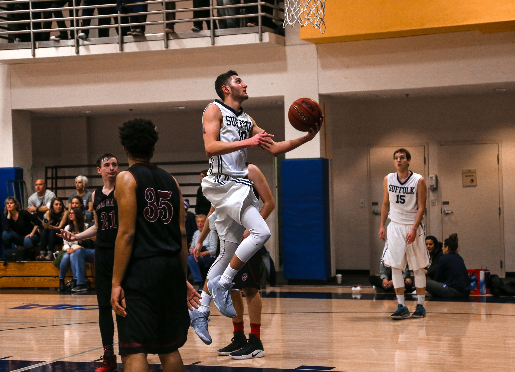 Lasell Powers Past Men's Basketball, 93-65