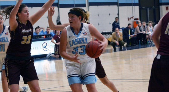 Norwich upends Lasell Women's Basketball