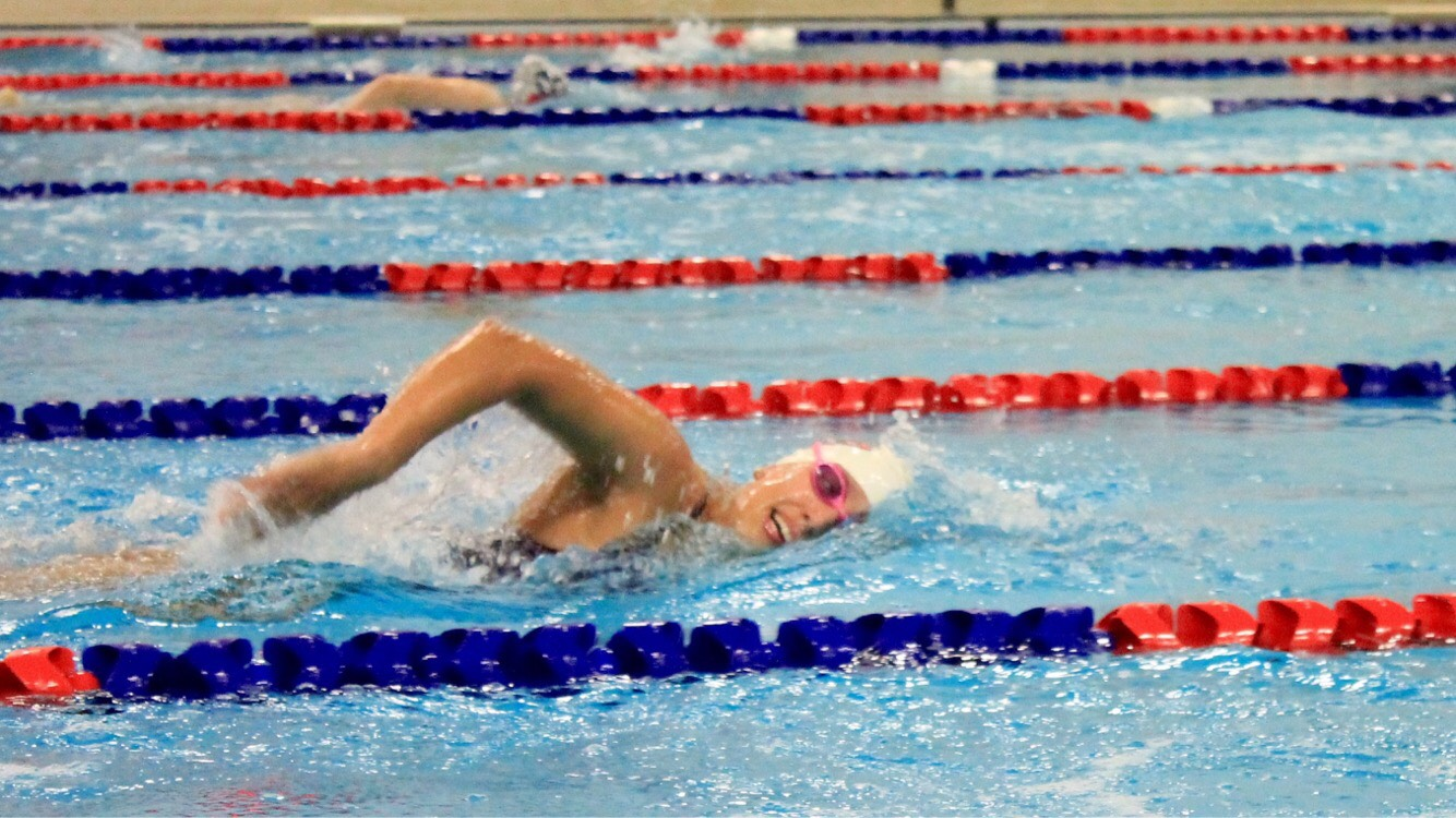 Brock University swimmer Lesley Ridsdale is special in ways far beyond her gait.