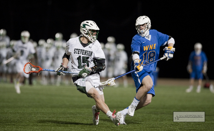 Nick Rossi's Five Points Lead No. 5 Mustangs Past Lebanon Valley, 19-4
