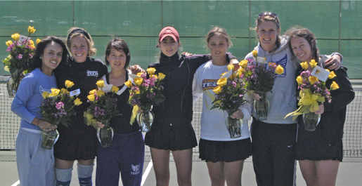 Golden Eagle women's tennis victorious in final match