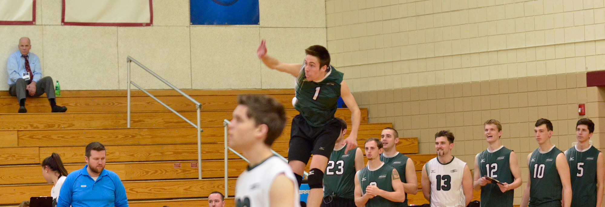 Mustangs Run Continues Defeating No. 15 Elms In Straight Sets