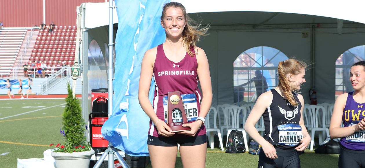 Moyher Earns All-America Honors in Javelin After Eighth-Place Finish at NCAA Division III Track and Field Championships
