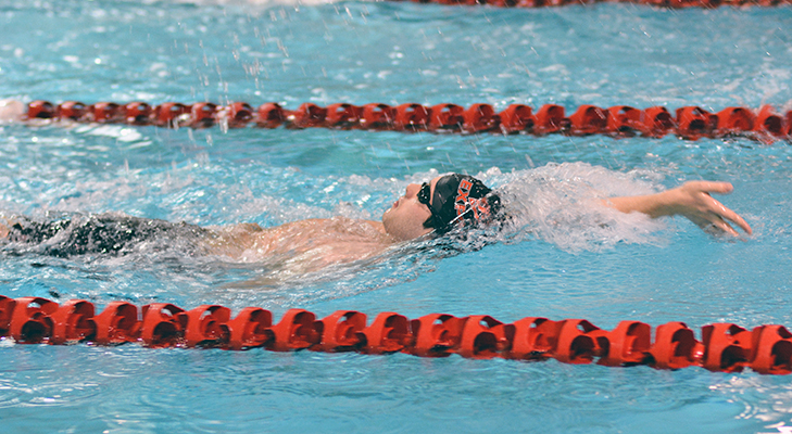 Men's Swimming Concludes Regular Season With Loss