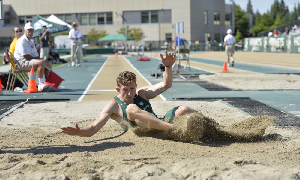 MEN'S LONG JUMP LEADS THE WAY FOR TRACK & FIELD AT DAY THREE OF BIG SKY CHAMPIONSHIPS