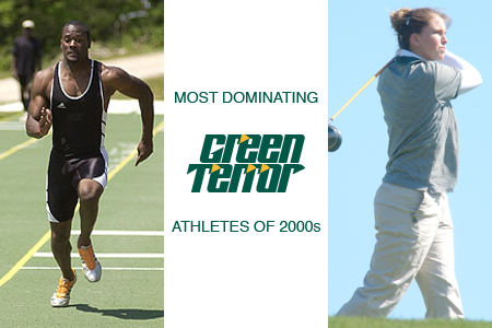 Most Dominating Green Terror Athletes