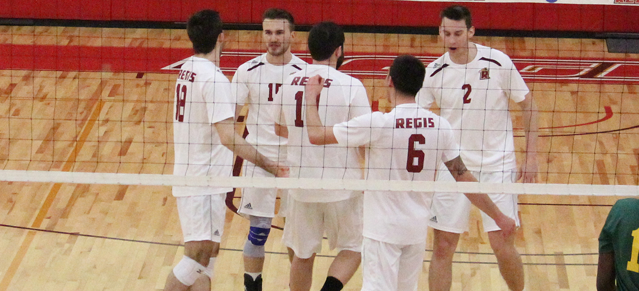 Pride Sweeps Lesley to Cap Regular Season