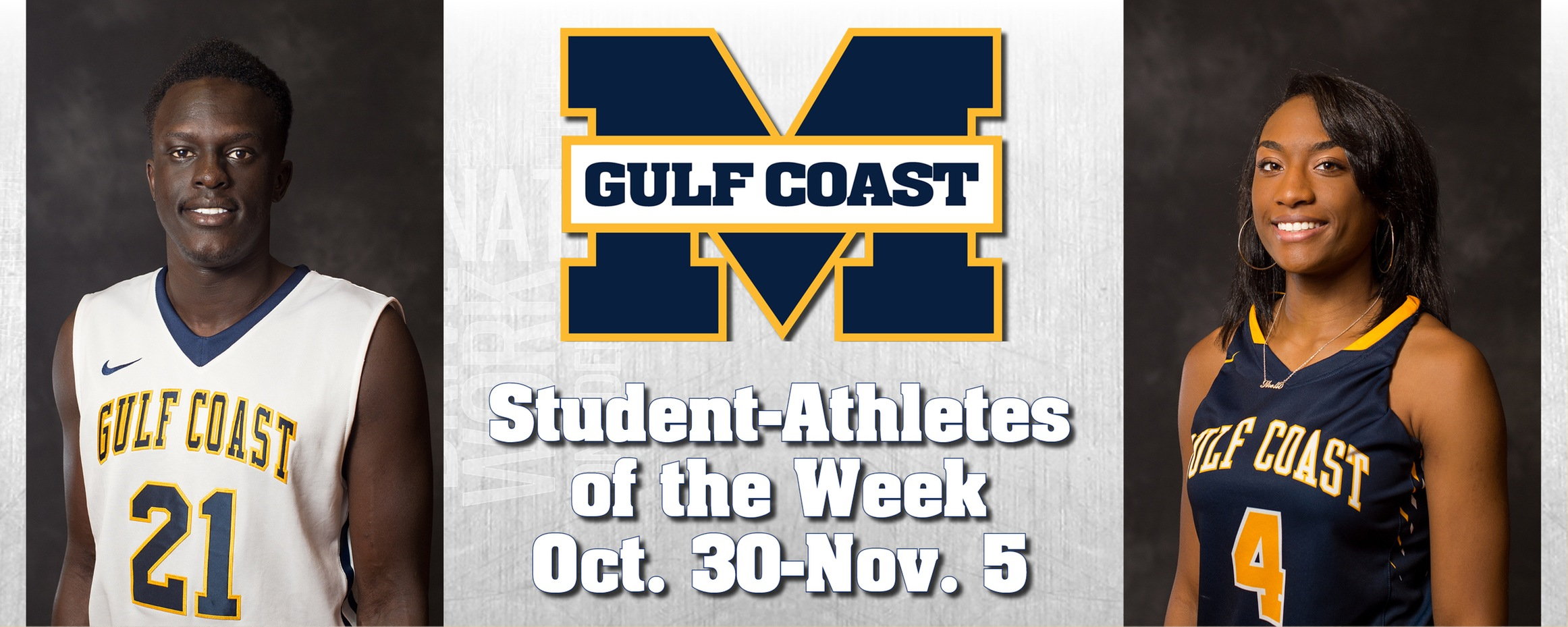 Chan, Thigpen named MGCCC Student-Athletes of the Week