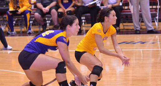Golden Eagle volleyball team wraps up tourney play at Kennesaw