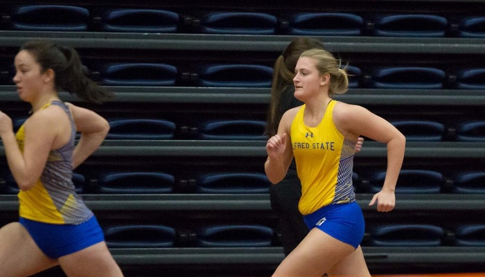 Indoor Track Closes Out Regular Season