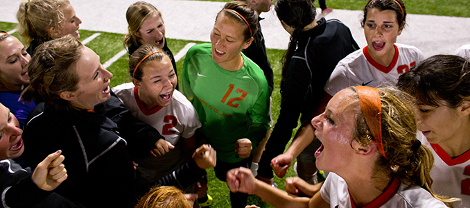 Ratfield Lifts Women's Soccer to Victory