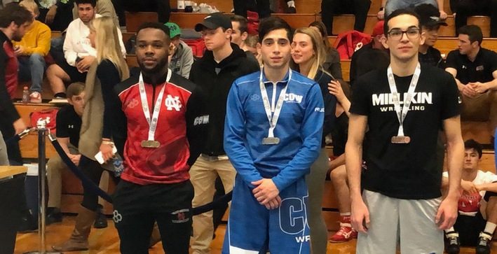 Padilla places second, Wrestling takes fifth at CCIW Championship