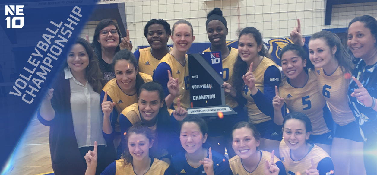 Embrace The Championship: Back-To-Back! New Haven Repeats as NE10 Volleyball Champions