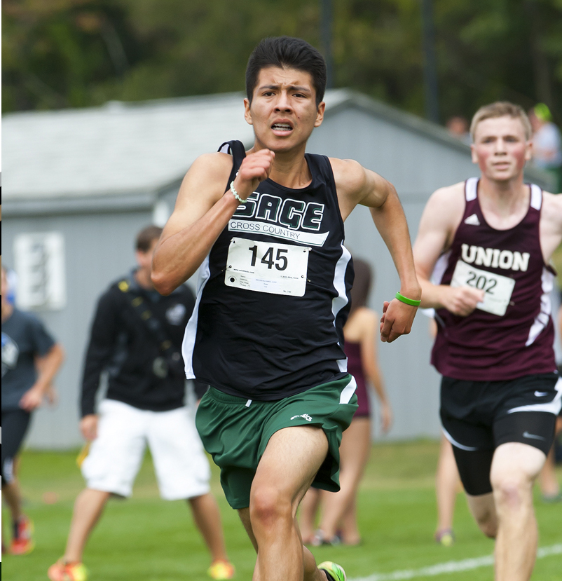Sage men's cross country team opens season with a 9th place finish at Wildcat Short Course