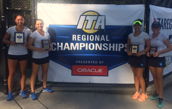 Harding Captures ITA Singles Title; Adds Doubles Crown with Su
