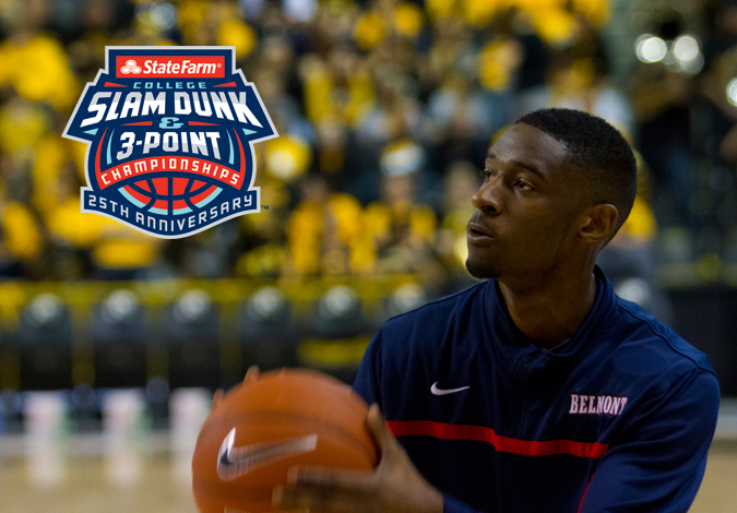 Ian Clark Selected For State Farm® College Slam Dunk & 3-Point Championships