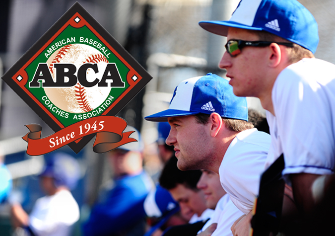 Baseball earns second-straight ABCA Team Academic Excellence Award