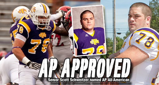 Guard Scott Schweitzer earns AP All-America honor