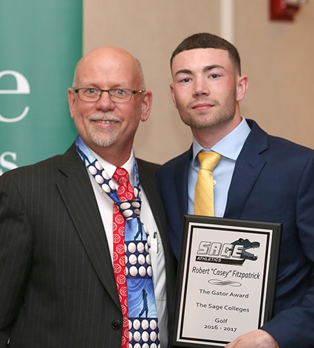 Sage's Fitzpatrick Named Gator of the Year in Men's Golf