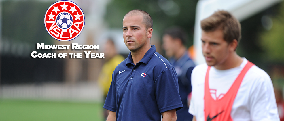 Wassermann Named NSCAA Midwest Region Coach of the Year
